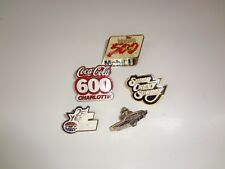 NASCAR Lot 5 Speedway Motor Sports Pin Charlotte Indianapolis 500 Coca Cola 600