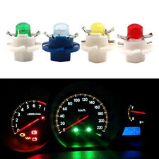 10Pcs T5 B8.4 COB 1SMD Led Bulb Car Gauge Dash Dashboard Instrument Lights 12V