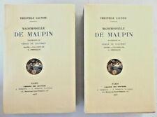 Théophile Gautier. Mademoiselle de Maupin. Gravures de Solomko Japon, 2 états.