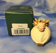"Htf New British Flag Harmony Kingdom Roly Polys ""Rudy"" Box Figurine Tjevru00 Nib"