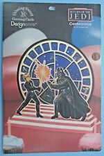 "Centerpiece display party supply '83 vtg Star Wars 9.5"" Tall Darth Vader Duel"