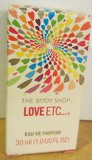 The Body Shop  LOVE ETC. EAU DE PARFUM 1 FL OZ in box