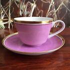 REICHENBACH Colour Collection, tasse à café Avec Soucoupe Violet 0,22 Litre