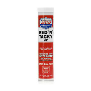 """10005-1 LUCAS OIL RED """"N"""" TACKY GREASE 14OZ"""