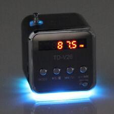 Portable Micro SD TF USB Mini Stereo Speaker Music Player FM Radio PC MP3 /4 EN