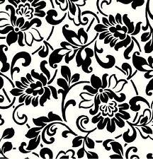 Klebefolie Möbelfolie Heritage schwarz weiß 45 X 200 Cm Selbstklebefolie