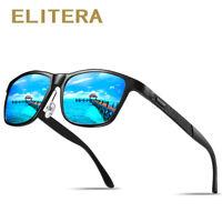 ELITERA Brand Aluminum Polarized Sunglasses Men Driving Shades Male Sun Glasses
