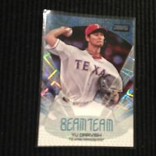 2014 TOPPS STADIUM CLUB #BT-15 YU DARVISH *BEAM TEAM INSERT*  TEXAS RANGERS