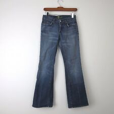 7 for All Mankind Womens Jeans Sz 24 Medium Wash Bootcut A28