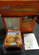 Wheaties Muhammad Ali 75 Years Of Champions Gold Signature Mini Box