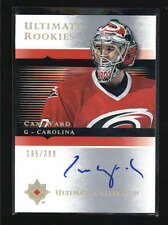 CAM WARD 2005/06 UPPER DECK UD ULTIMATE #107 ROOKIE AUTOGRAPH AUTO #/399 AB6002