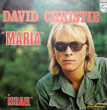 DAVID CHRISTIE 45RPM PICTURE SLEEVE MARIA  FREE POST AUSTRALIA