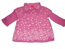 s. Oliver tolles Blusen Shirt Gr. 68 rosa mit Blumen Motiven !!