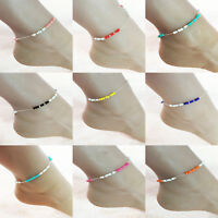 Summer Ankle Foot Chain Boho Bracelet Chain Jewellry Bead Ladies Anklet Beach
