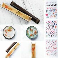 Epoxy Resin Materials Filler Sticker Floral Translucent Crystal Jewelry Making