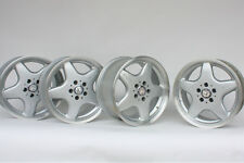 4x Mercedes Benz 17 AMG C43 C36 OEM Factory Wheels W202 CLK320 CLK430 SLK320