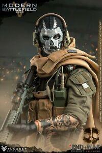 1/6 Flagset Modern Battlefield 2020 End War GHOST FS-73030 MIB
