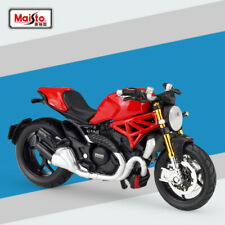 Miniature Maisto 1/18 2014 DUCATI Monster 1200S Motorcycle Diecast Model Toys