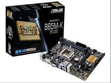 ASUS Intel Motherboard B85M-K  PLUS  VGA DVI  USB3.0