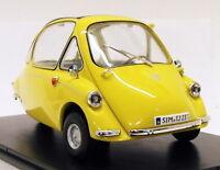 Oxford Diecast 1/18 Scale Model Car 18HE003 - Heinkel Kabine - Yellow