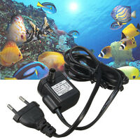 1 Pc Submersible Water Pump Aquarium Pond Fish Tank Fountain Hydroponic EU Plug