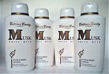 Bettina Barty Musk White Musk Hand-und Bodylotion 4 x 500m  (EUR 11,25 / L)