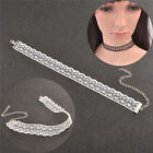 New Fashion Retro Vintage Lace Choker Necklace Collar Chain Necklace Jewellery