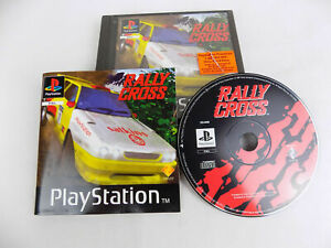 Mint Disc Playstation 1 Ps1 Rally Cross Free Postage