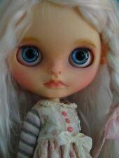 Blythe doll custom with very soft mohair hair Ooak doll by Oksana