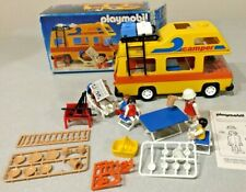 Complete & Excellent Family Camper Van Caravan Rv Motor Home Playmobil #3148 Box