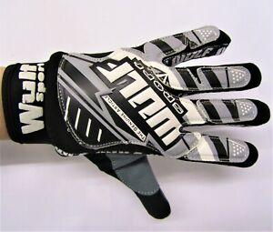 Wulfsport Grey motocross Adult gloves size SMALL motorbike mx leisure MTB