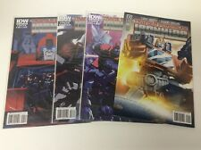THE TRANSFORMERS IRONHIDE #1-4 (IDW/2010/COSTA/0218418) COMPLETE SET LOT OF 4