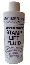 Safe Stamps Remover Remove & Lift Improved Fluid Super Safe 4 Oz Free Shipping