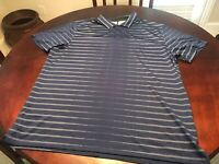 New Tiger Woods Golf Polo Shirt Size XL In Blue