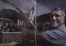 Coupure de presse Clipping 2012 Dietrich Mateschitz écurie Red Bull (6 pages)