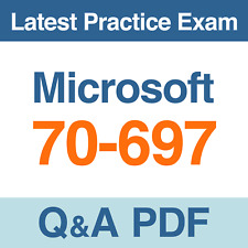 Microsoft 70-697 Practice Exam Configuring Windows Devices Test Q&A PDF