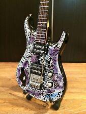 Mini Guitar Joe Satriani Collectible Flying In A Blue Dream Tribute Replica