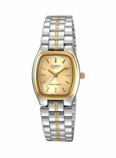 Casio Women's LTP1169G-9A STAINLESS STEEL SILVER/GOLD TONE FASHION ANALOG WATCH