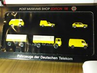 Post Museums Shop PMS 80 02 Wiking VW MB MAN 1:87 HO-Edition 1998 OVP  P-6