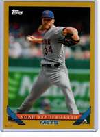 Noah Syndergaard 2019 Topps Archives 5x7 Gold #293 /10 Mets