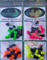 Moonglow mixed packs Plaice attractors 6mm diameter