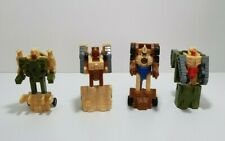Vtg G1 Transformers Micromasters Battle Patrol 1989 Complete Set Hasbro Takara