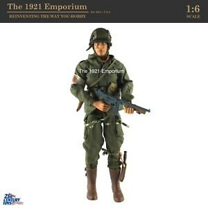 1:6 21st Century Toys Ultimate Soldier WWII US Army 101st Airborne Figure