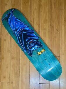 RARE Tony Hawk Bat Skateboard Birdhouse Deck 8.0