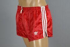 ADIDAS Glanz Nylon Shorts!!!  Vintage Short Sporthose Rot -Gr.M-5   (1254)