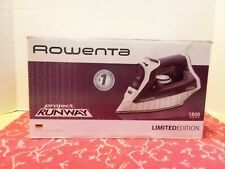 Rowenta DW8152  Professional Steam Iron Limited Edition Project Runway 1800w