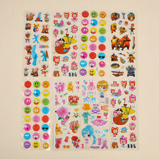 10Pcs Sheets Cute Cartoon Sticker Children 3D Picture Wall Removable Decal Gift