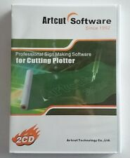 ARTCUT Software Multi Languages For Vinyl Cutting Cutter Plotter,2x CD