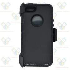 Black iPhone 5S / SE Defender Case w/ Belt Holster Clip fits Otterbox