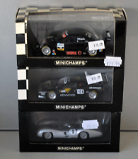 Minichamps 1/43 x3 models Mercedes , BMW M1, Mercedes W196